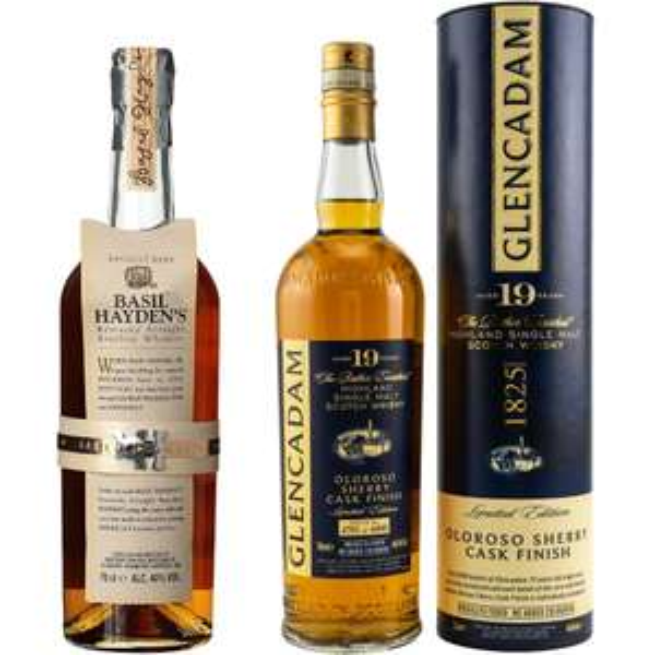 Whisky-Übersicht #87: z.B. Basil Hayden's Kentucky Bourbon für 28,04€, Glencadam 19 Oloroso Sherry Cask Finish für 108,90€ inkl. Versand