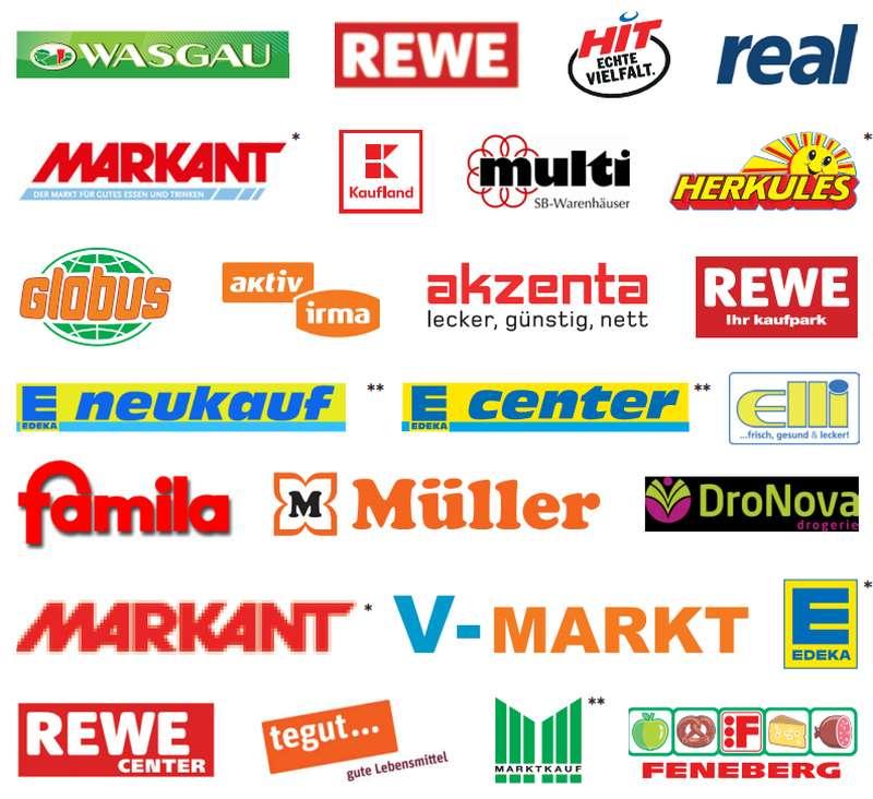 Coupon-Sammlung der im Handel befindlichen Rabatt-Coupons / + andere Quellen