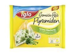 Iglo Gemüse-Reis Pyramiden Gratis-Test iglo.de
