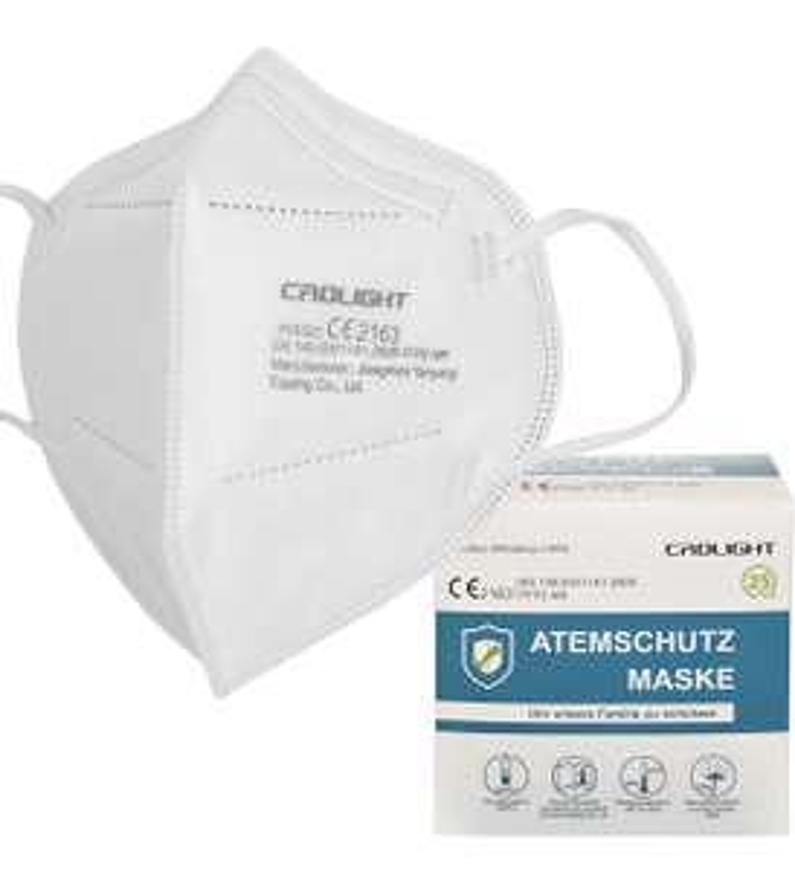 [Amz Marketplace] 100 FFP2 Masken (0,24€/Stück) / 5-lagig / einzeln verpackt