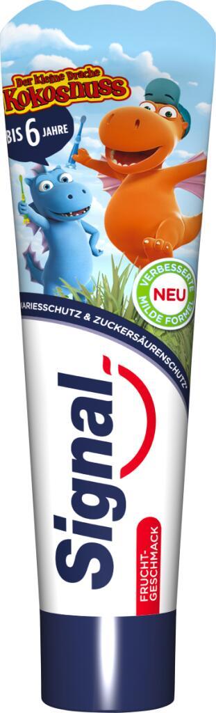 Amazon Prime: Signal Zahnpasta, Altersempfehlung 0 bis 6 Jahre, 50 ml Inhalt