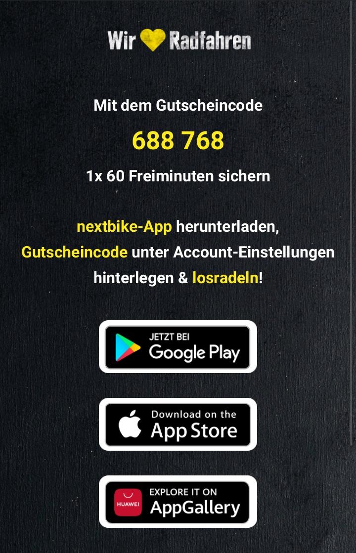 [lokal Berlin] 60 Minuten Freifahrt bei Nextbike