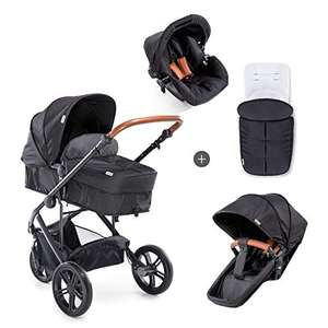 Hauck Dreirad 3 in 1 Kombi Kinderwagen Pacific 3 Shop N Drive [Amazon]