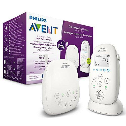 Philips AVENT SCD723/26 Babyphone, weiß (Weitere Modele im Angebot, siehe Dealbeschreibung)