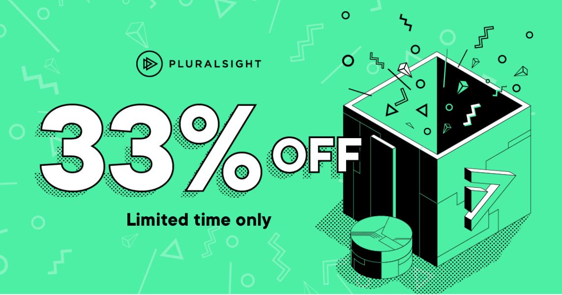 Pluralsight 33% Rabatt auf Jahresabo