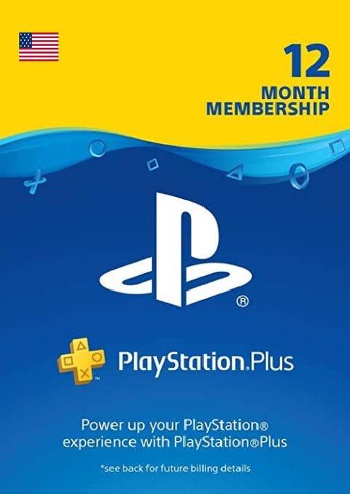 PS Plus US Code für 12 Monate