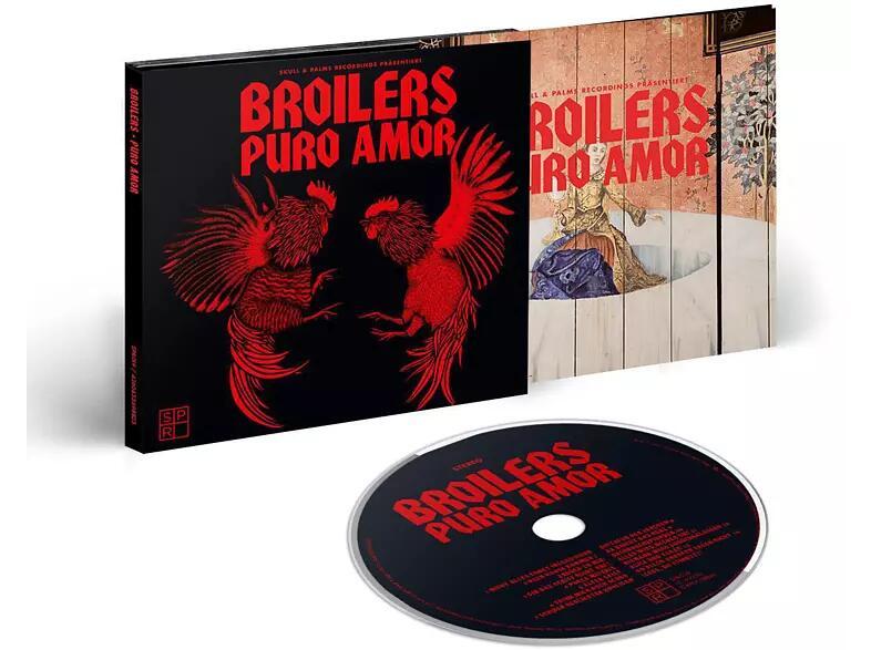 Broilers - Puro Amor (Limitierte Erstauflage im Digipak) - (CD) - die Vinyl gibt's für 19,99€