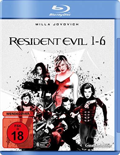 Resident Evil 1-6 (Blu-ray) für 21,97€ (Amazon)