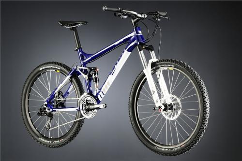 gutes Einsteigerfully: Vitus Bikes Blitz 2 Suspension Bike 2012