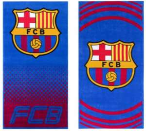 FC Barcelona Pulse Towel Handtuch 70 x 140 cm in 2 Designs (Official Club Merchandise)