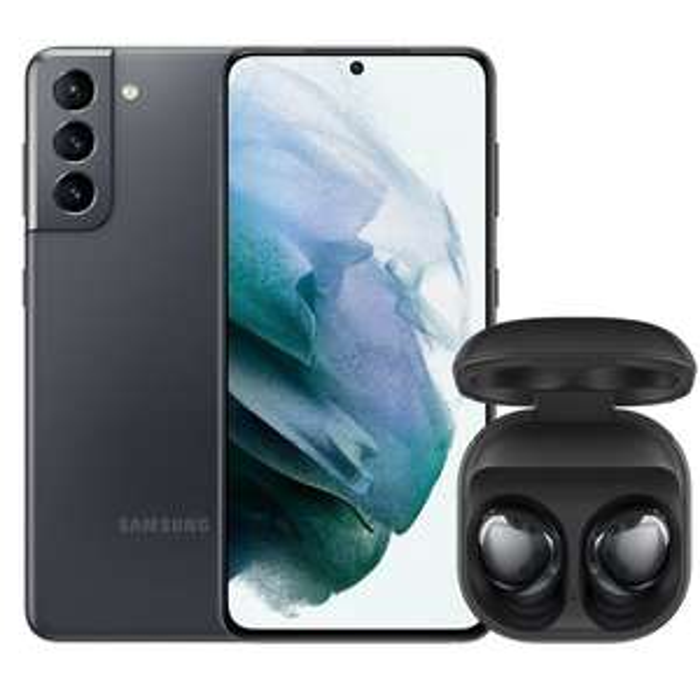Samsung Galaxy S21 (256 GB) + Galaxy Buds Pro mit o2 Free M Boost (40GB LTE, o2 Connect, VoLTE & WLAN Call) für 49€ ZZ & mtl. 34,99€