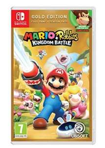 Mario + Rabbids: Kingdom Battle Gold Edition (Switch) für 23,42€ inkl. Versand (Base.com)