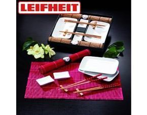 Leifheit Asia Set 10 tlg. in Natur, Sushi Porzellan Teller Set für 9,99€ @ OHA MP