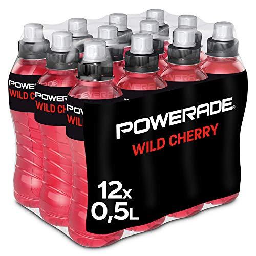 Amazon Prime: Powerade Wild Cherry , 12 x 0,5 Liter Isodrink in der Einwegpfandflasche , Preis der Einzelflasche : 61 Cent