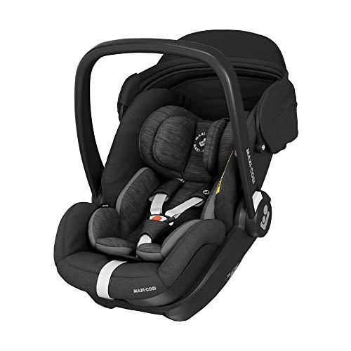 Maxi-Cosi Marble Babyschale i-Size Baby-Autositz (essential black) mit Baby Wunschliste 174,24€ möglich