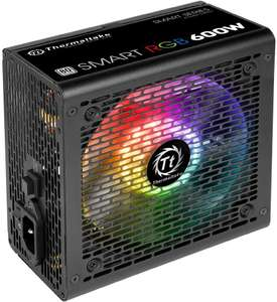 Amazon: Thermaltake Smart RGB 600W PC-NetzteilStromversorgung