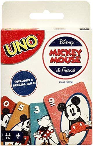 Mattel Games GGC32 - UNO Disney Micky Maus & seine Freunde Kartenspiel, geeignet für 2 - 10 Spieler [Amazon Marketplace]