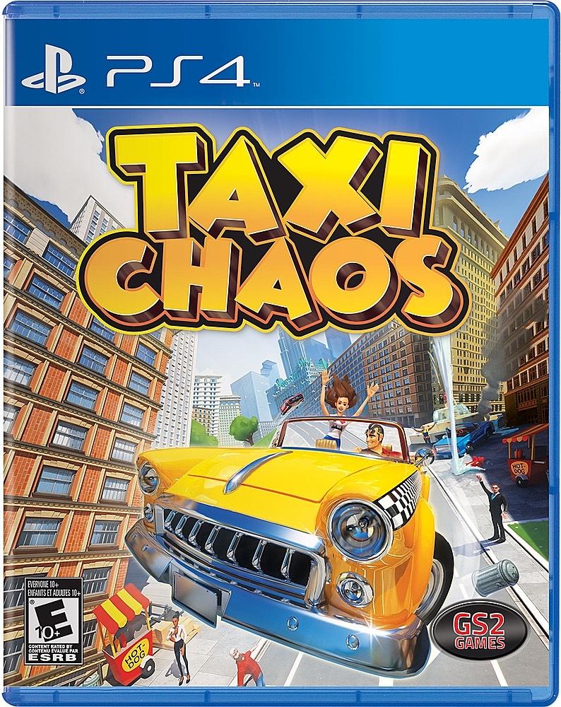 Taxi Chaos Ps4 Playstation 4