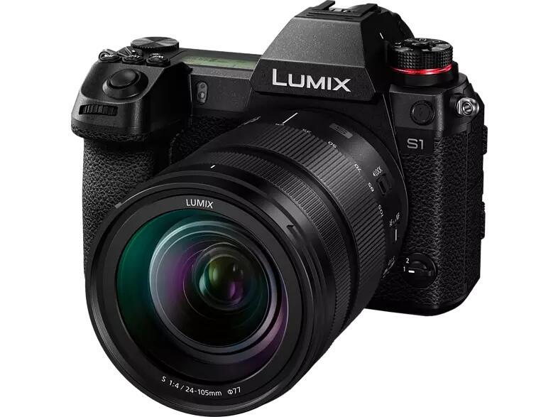 Panasonic Lumix DC-S 1 Kit Systemkamera mit Objektiv 24-105 mm f/4