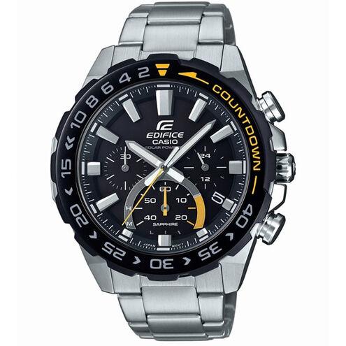 "Casio Herren Chronograph Edifice ""EFS-S550DB-1AVU"", solarbetrieben"