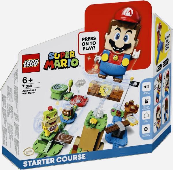LEGO 71360 Super Mario - Abenteuer mit Mario Starterset für 36,53€ inkl. Versandkosten