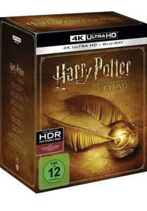 Harry Potter Complete Collection 4K Ultra HD UHD Blu Ray