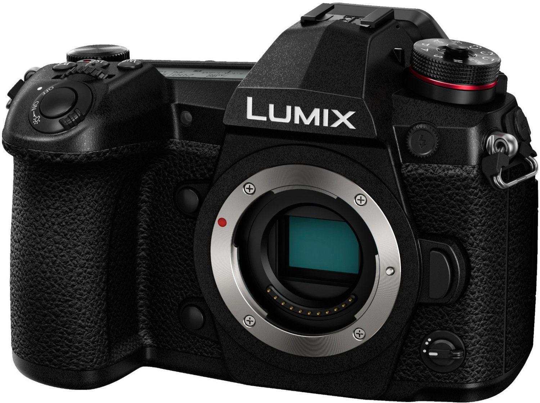 Panasonic Lumix G9 MFT Systemkamera inkl. 14-140mm F3,5-5,6, 25mm F1,7 Objektiv & Peak Design Everyday Sling 10L