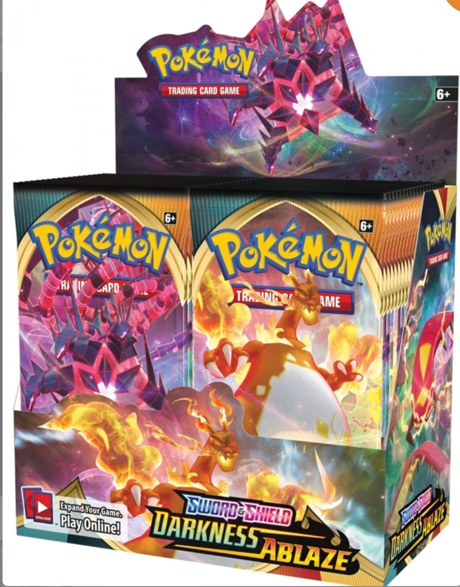 Pokemon Tcg Darkness Ablaze Display Englisch