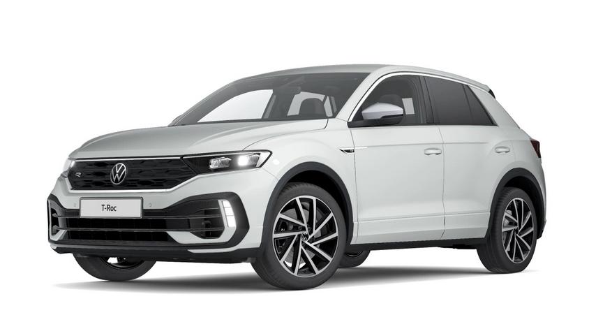 Privatleasing: VW T-Roc R DSG 4Motion / 300 PS (konfigurierbar) für 289€ (eff 326€) monatlich - LF:0,62