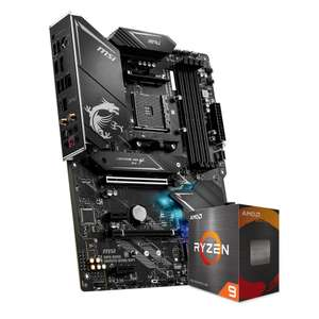 MSI MPG B550 Gaming Edge WIFI Mainboard + AMD Ryzen 9 5900X CPU