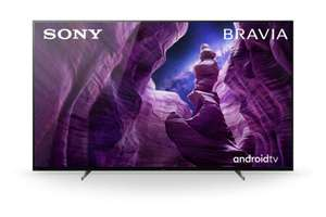 Sony KD-65A89 Bravia OLED TV 65 Zoll, 4K UHD, Smart TV, Android TV, UHD, HDR, Sprachfernbedienung, 2020 Modell