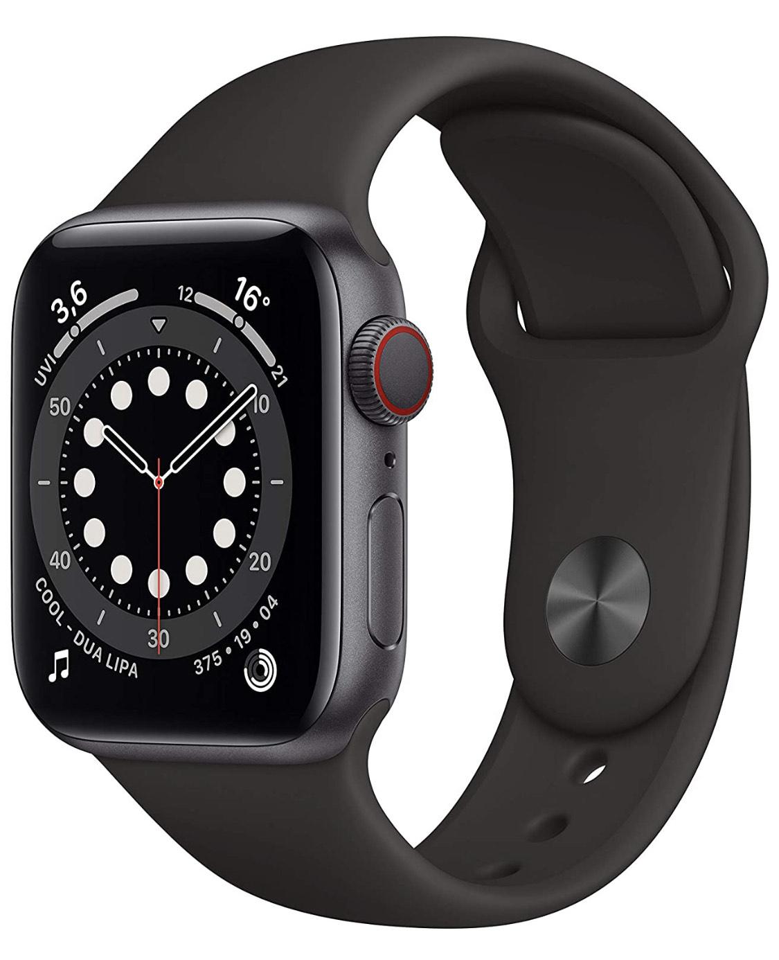 Apple Watch 6 (GPS + LTE) spacegrau 40mm