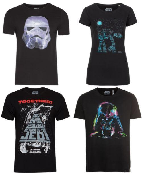 GOZOO x Star Wars T-Shirts, 25% extra ab 2 Artikeln (Dealpreis für 2 T-Shirts inkl. Versand)