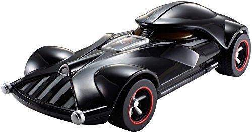 [ Amazon / Prime ] Hot Wheels - Star Wars Darth Vader RC Fahrzeug (FBW75) / Licht & Sound / Ferngesteuertes Auto ab 3 Jahren