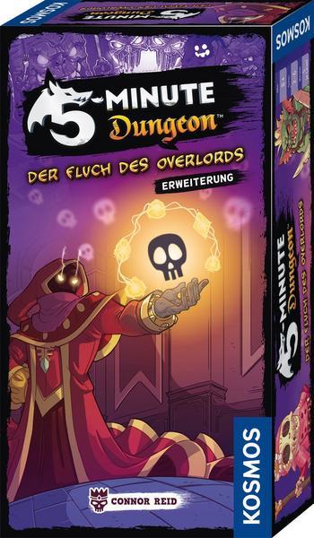 [Thalia] Brettspiel Erweiterung 5 Minute Dungeon Fluch des Overlords