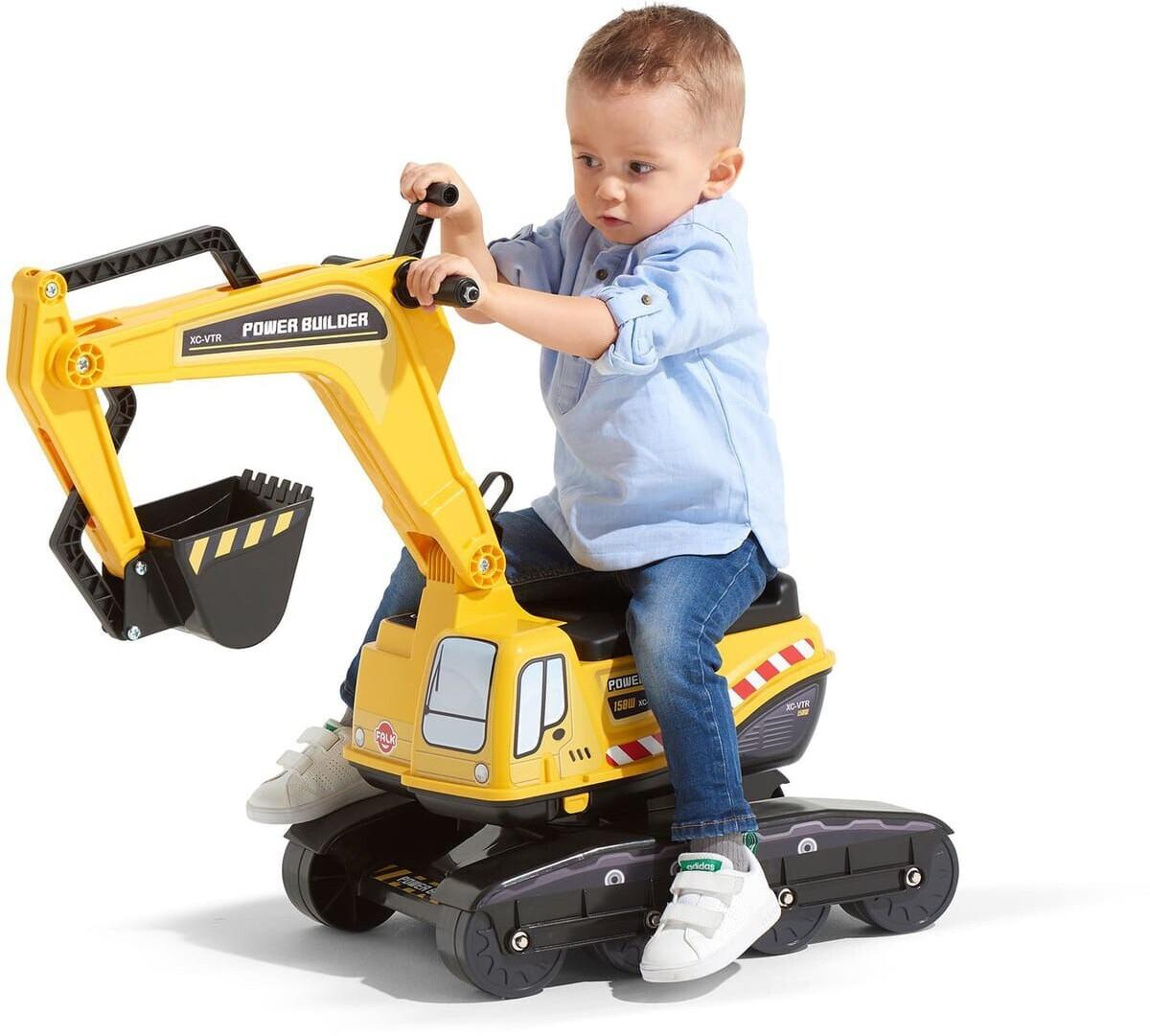 Falk 120, Kinder Baumaschine, Power Builder Bagger