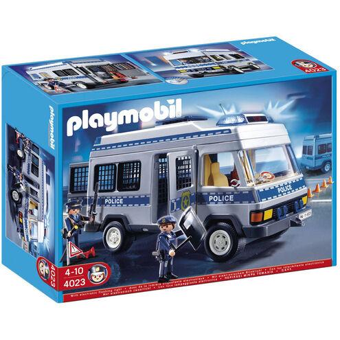 PLAYMOBIL Polizei-Mannschaftswagen 4023