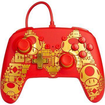 PowerA Nintendo Switch Enhanced Wired ControllerGolden Mario [Alza]