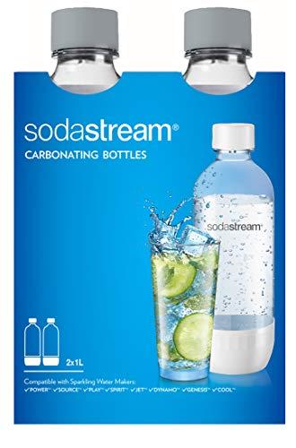 Soda Stream Flaschen aus Kunststoff 2x 1 Liter für 9,18€ (Amazon Prime)