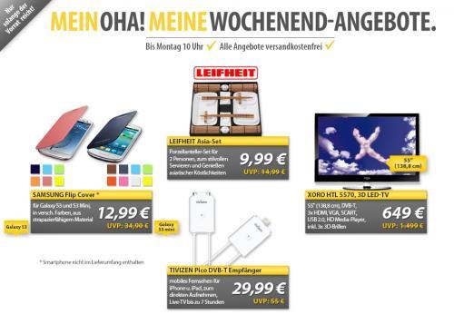 MP OHA: S3 und S3 Miini Flip Cover in verschiedenen Farben zu 12,99€