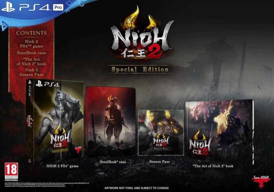 Nioh 2: Special Edition (PS4) [Mediamarkt Abholung]