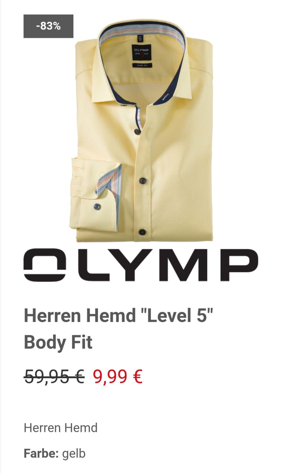 """Herren Hemd Olymp """"Level 5"""" Body Fit In der 38,39,40 und 41/anderes Hemd siehe Beschreibung"""