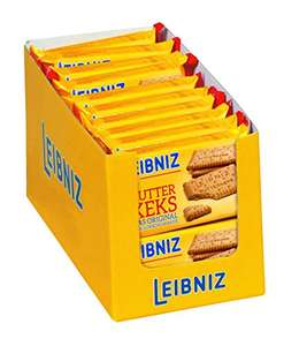 Amazon Prime: 22x50 Gramm Leibniz Butterkekse im Thekenaufsteller