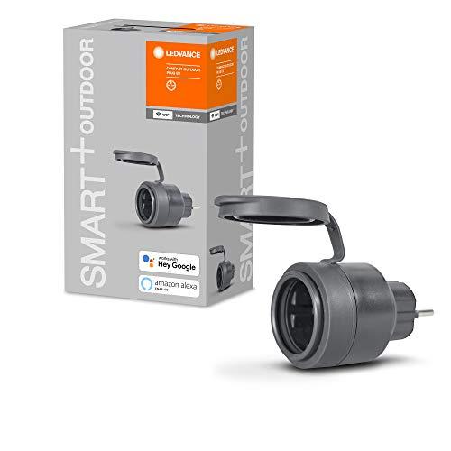 [Amazon prime] LEDVANCE Smart+ Outdoor Compact Plug WiFi für den Garten und Aussenbereich; Smarte Gartensteckdose, lieferbar ab 27.05