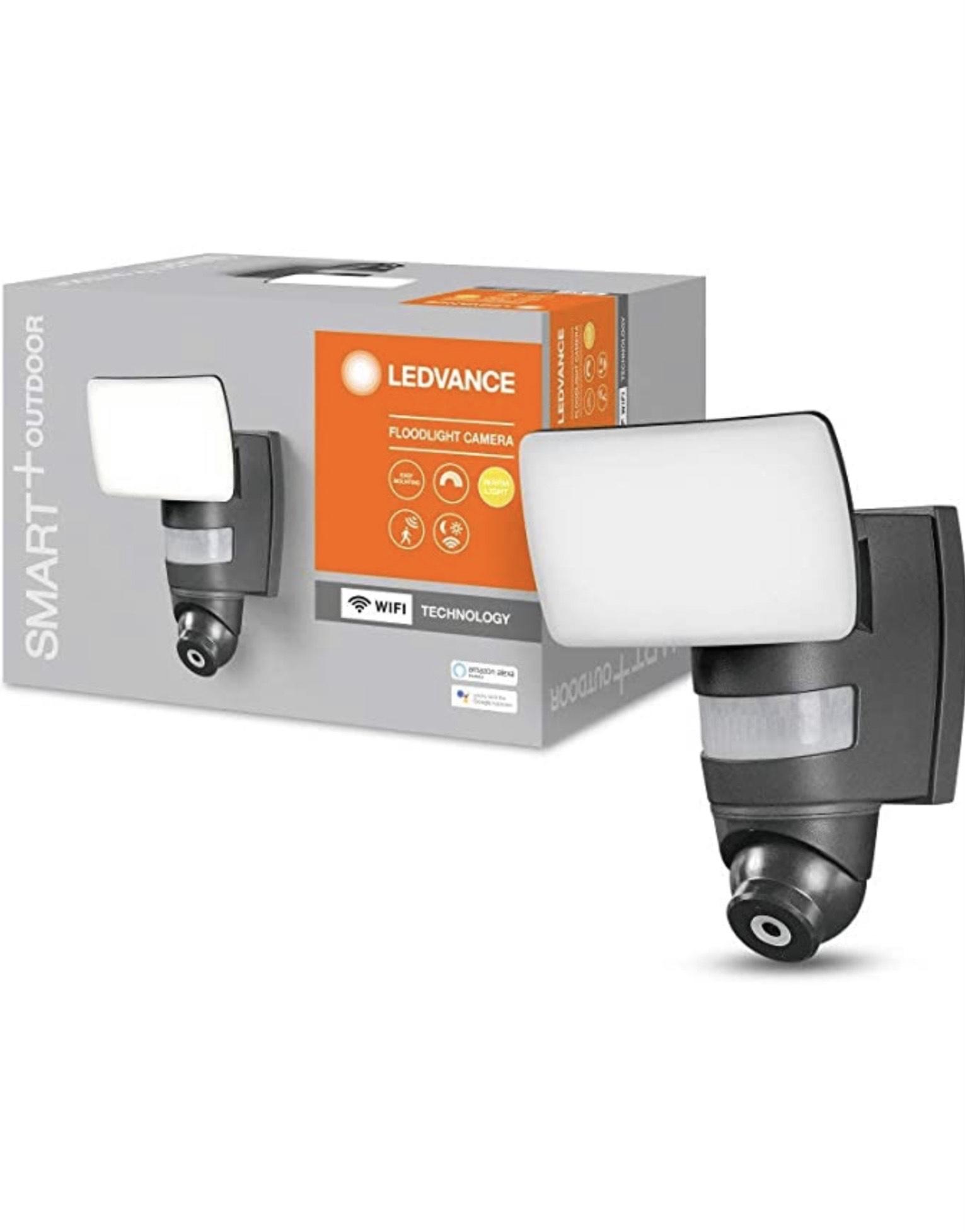 LEDVANCE Wifi Kameraleuchte für 99 Euro