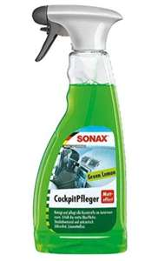 SONAX CockpitPfleger Matteffect Green Lemon (500 ml)- Prime