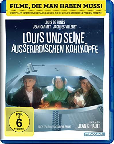 Louis und seine außerirdischen Kohlköpfe - Louis de Funes Blu-ray Amazon Prime