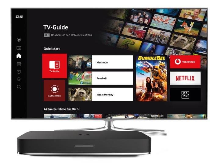 [vodafone] Ein Jahr GigaTV für Neu- und Bestandskunden gratis bei 3-Play dazu