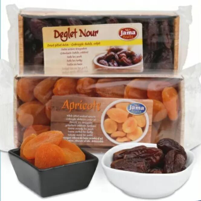 Jama Fruits 200g Datteln (3,95€/kg), Feigen oder Aprikosen (je 6,95€/kg)