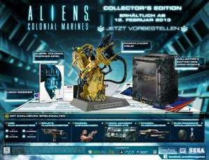 (PS3/Xbox 360/PC) Aliens: Colonial Marines Collector's Edition für 37,81 EUR inkl. VSK